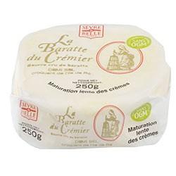 Baratte du crémier 250g - Beurre - Cristaux sel de l'île de Ré - Sèvre & Belle