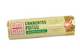 Rouleau-250g---Beurre-Demi-sel---Baratte---Sèvre-&-Belle-