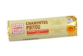 Rouleau-250g---Beurre-Doux---Baratte--Sèvre-&-Belle-
